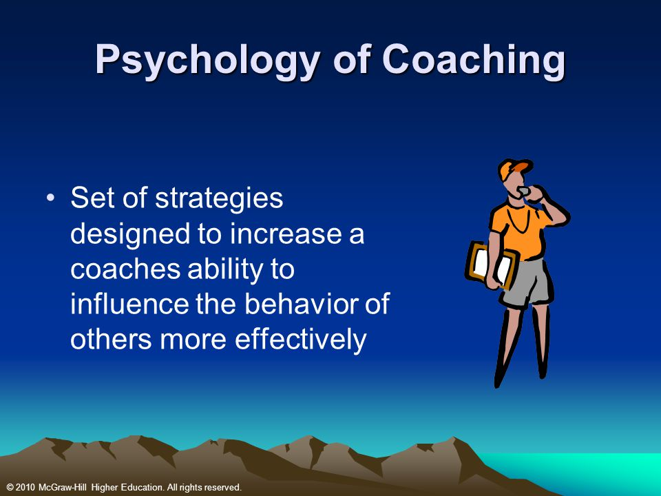 Psychology of Coaching