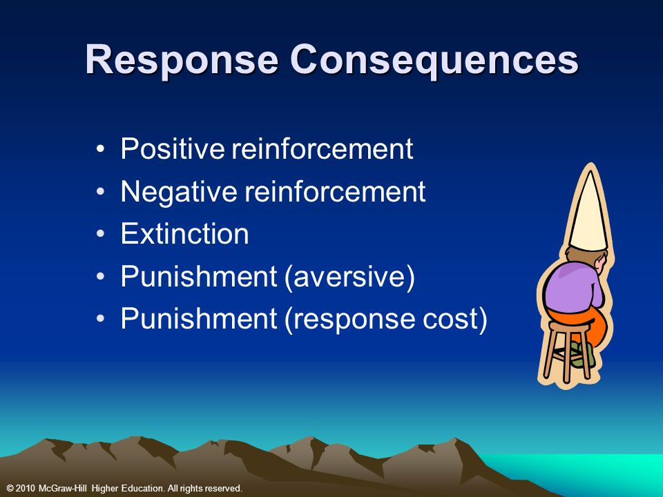 Response Consequences