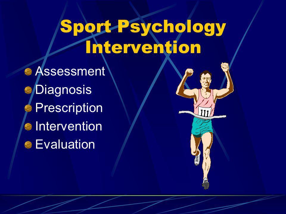 Sport Psychology Intervention