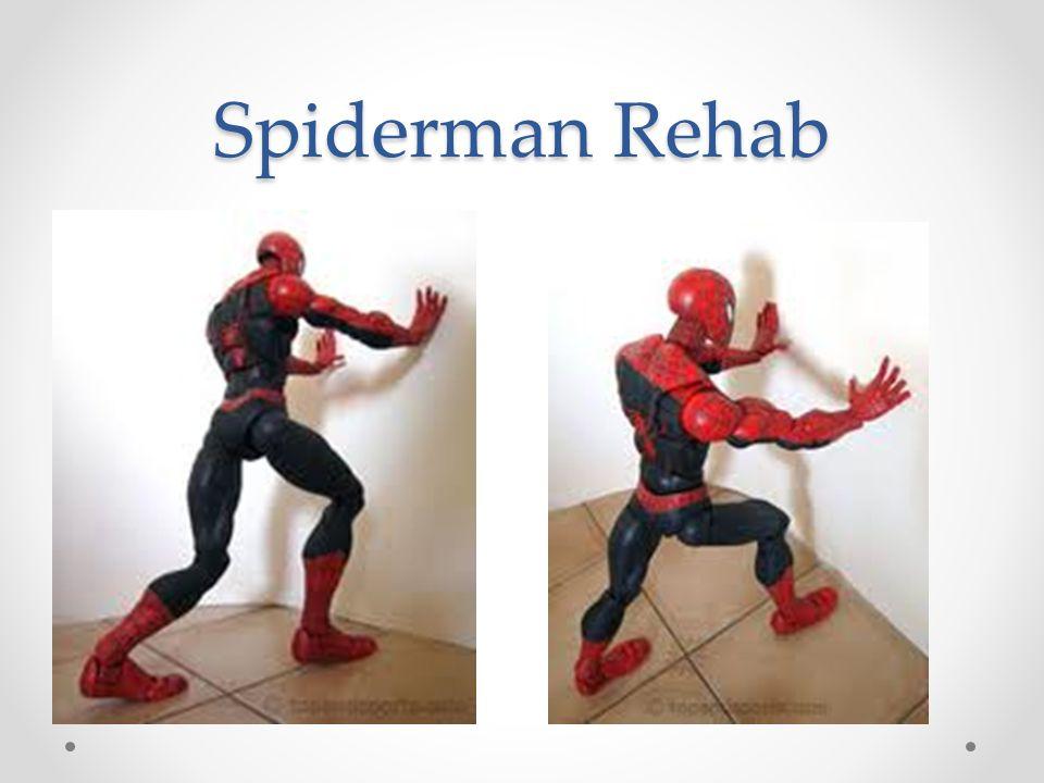 Spiderman Rehab