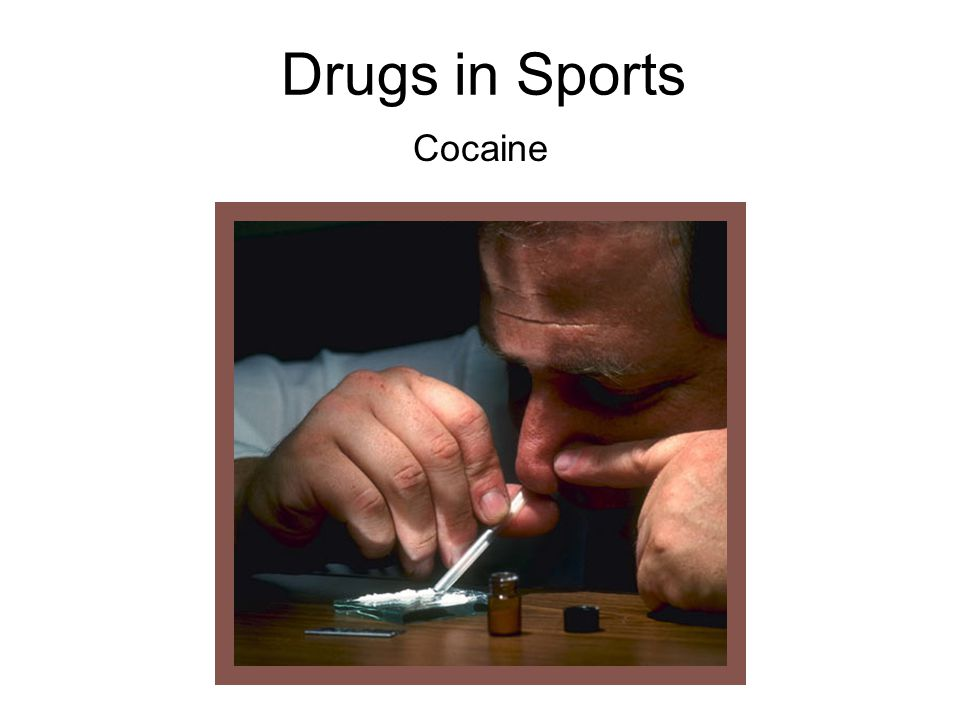 Drugs in Sports Cocaine