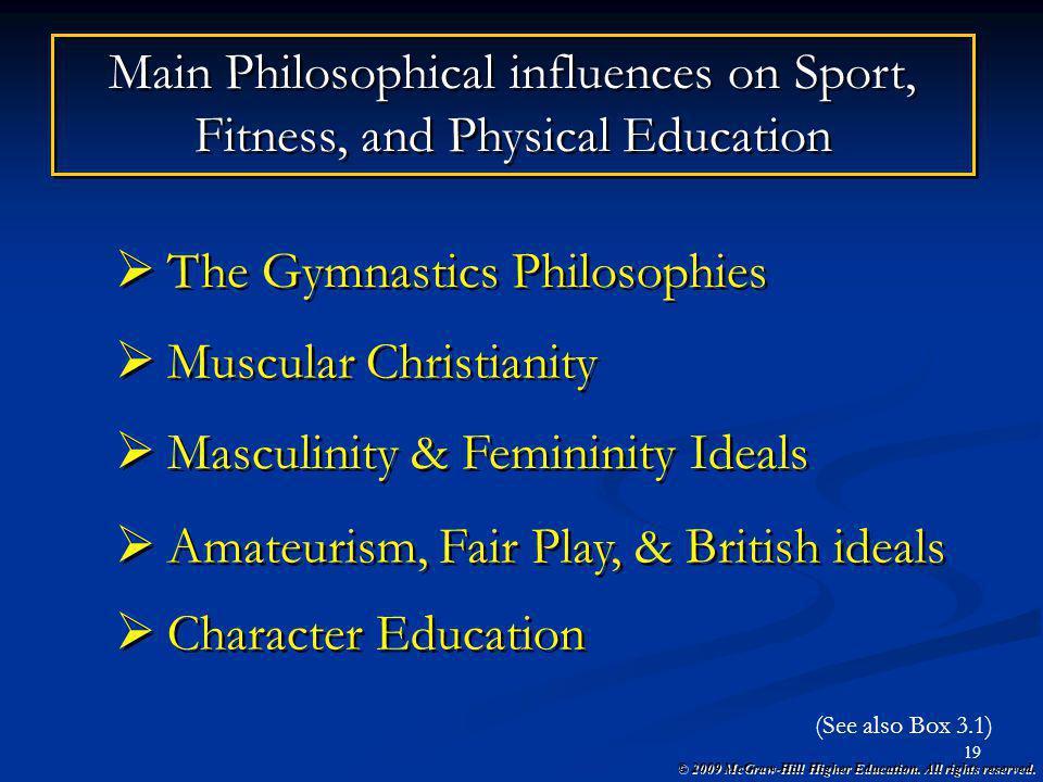 The Gymnastics Philosophies