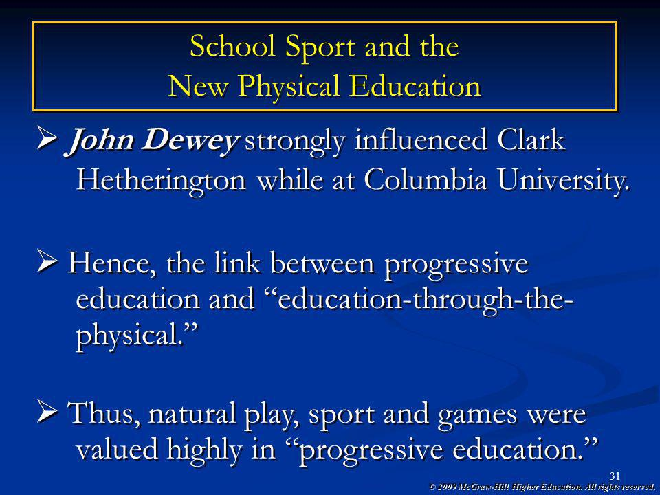 New Physical Education