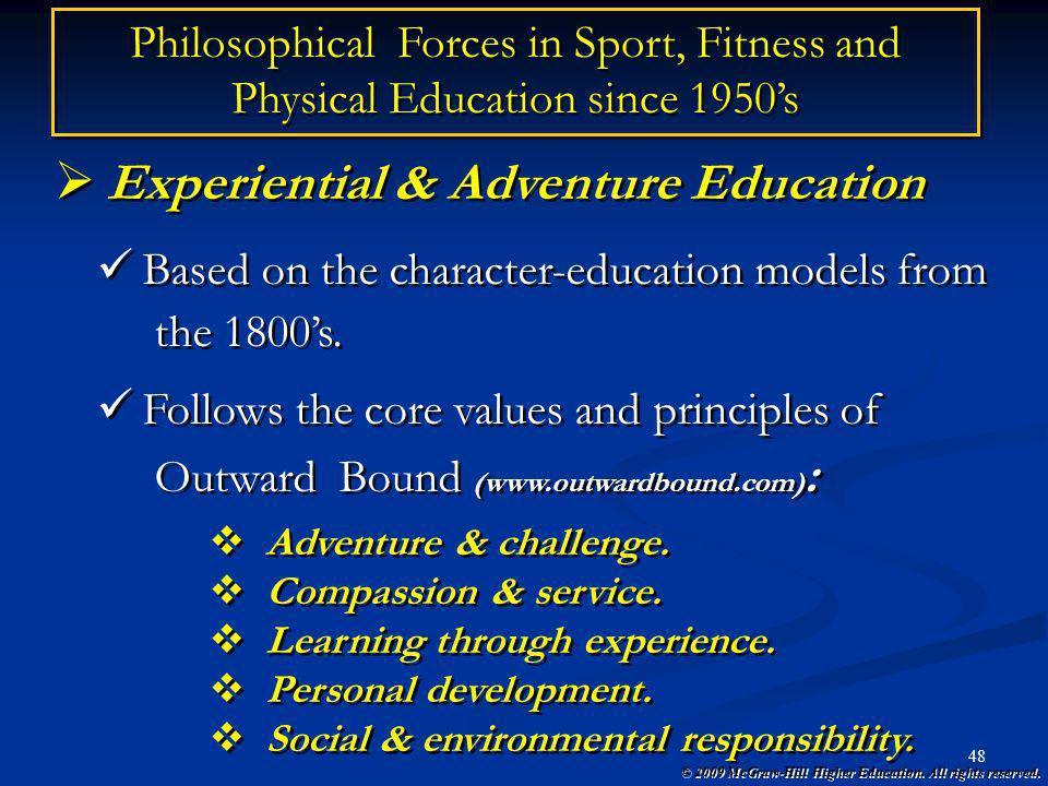 Experiential & Adventure Education