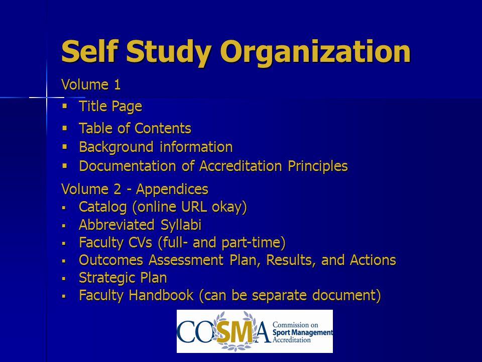 Self Study Organization