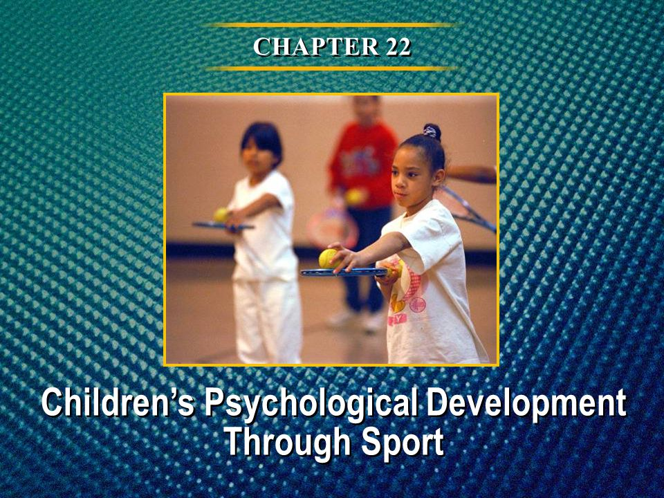 Children's Psychological Development Through Sport