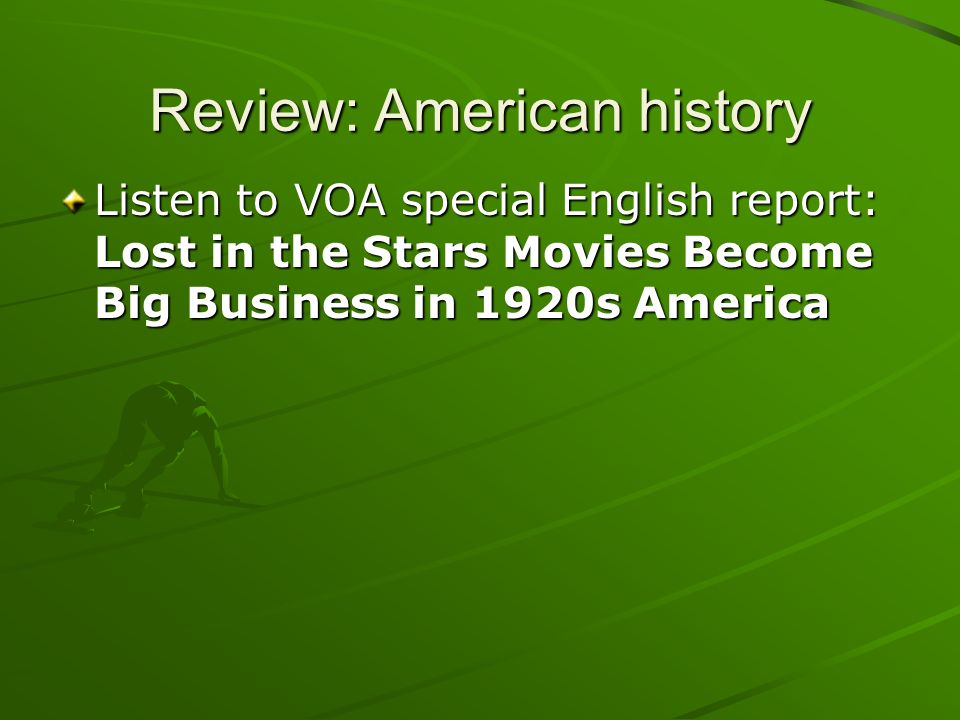 Review: American history
