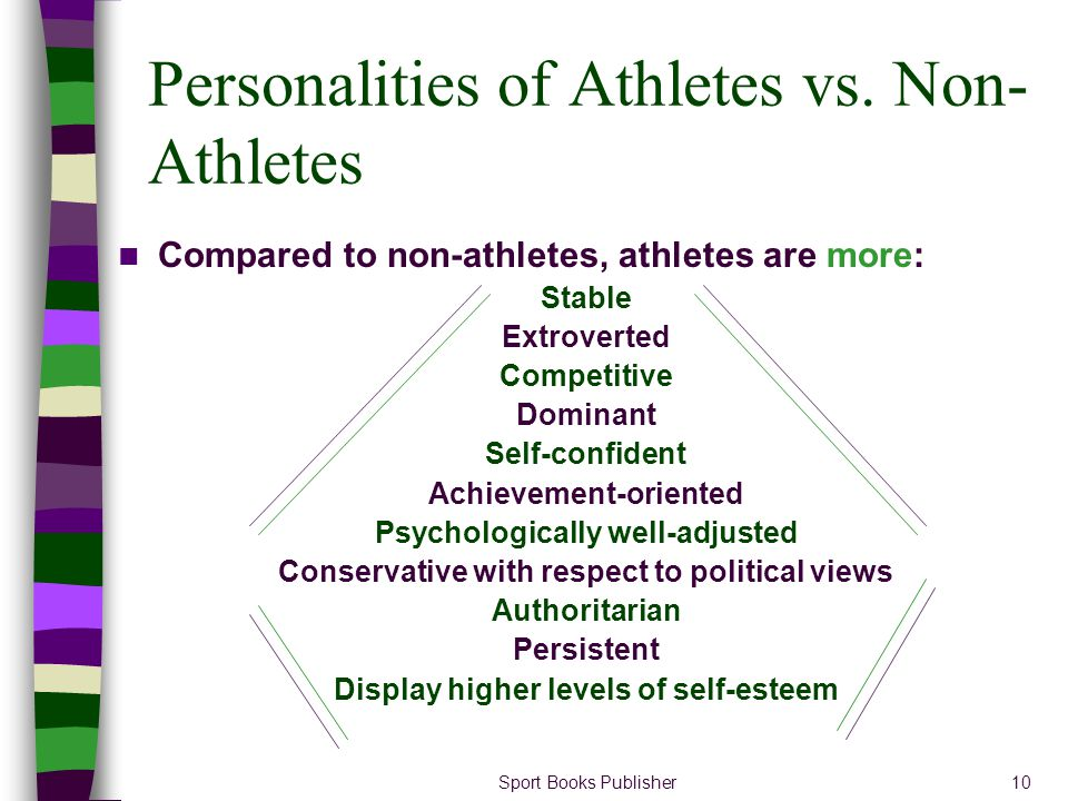 ATHLETES AND NON-ATHLETES