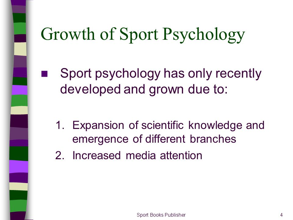 Growth of Sport Psychology