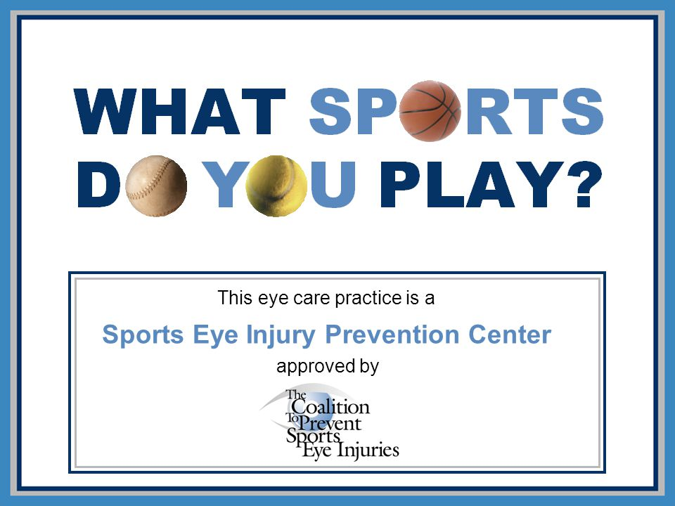 Sports Eye Injury Prevention Center