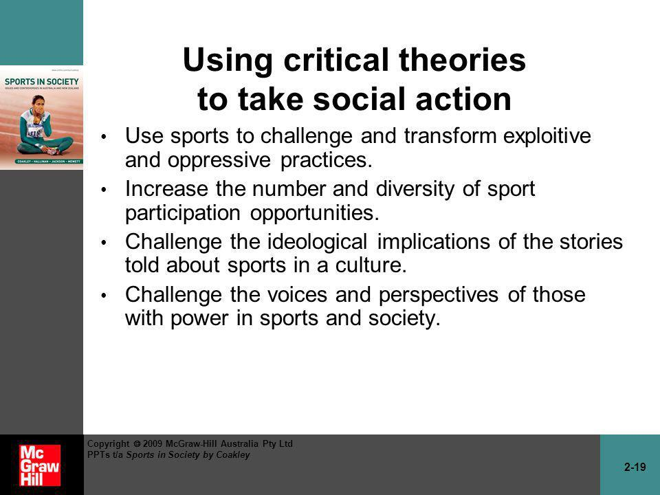 an analysis of theories of sport mirroring society Limiting analysis to the individual level is a useful simplification for some purposes in the rest of this reading, we will look at two major theories about how individuals make consumption decisions: the marketing view and the utility theory view then we will turn to the issues of consumption viewed at a society-wide scale and.