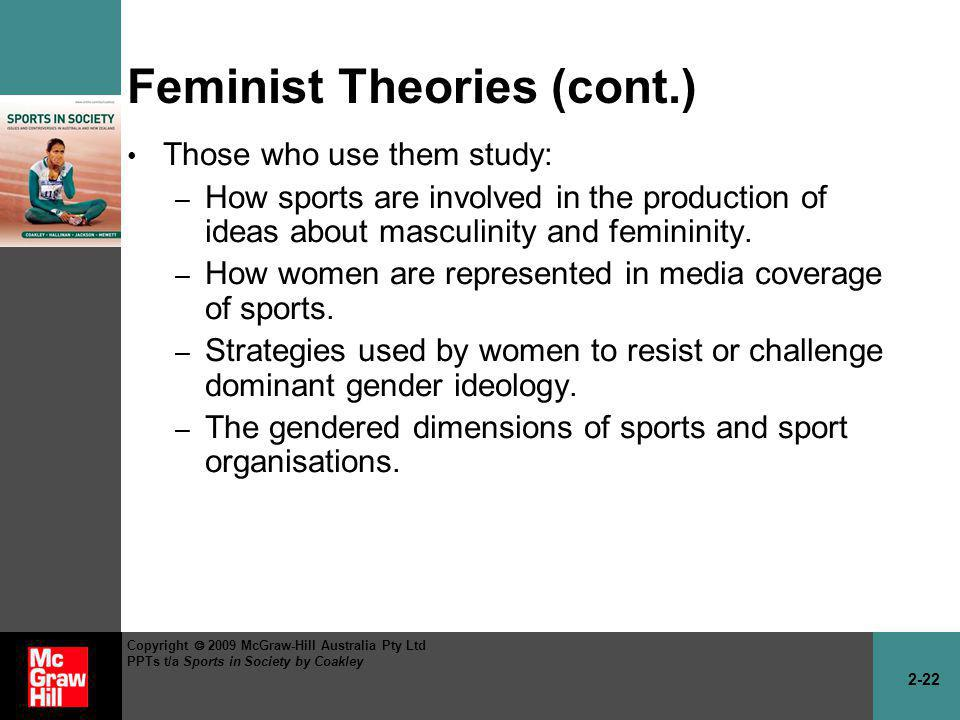 Feminist Theories (cont.)