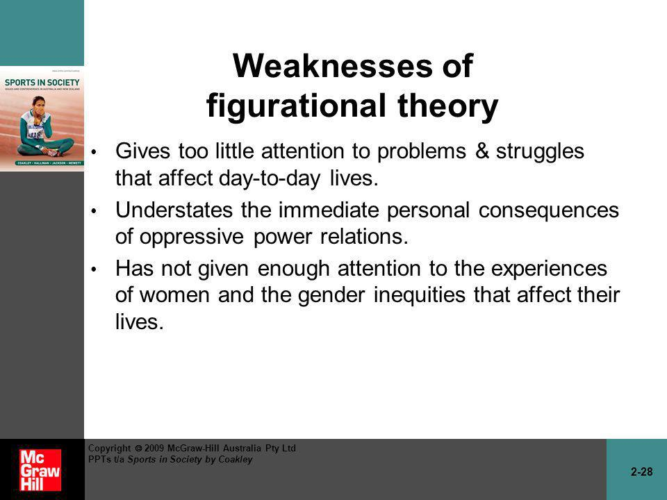 Weaknesses of figurational theory