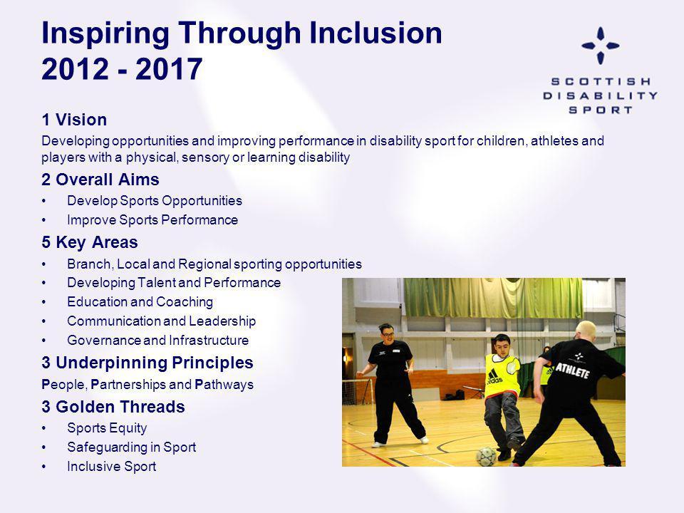 Inspiring Through Inclusion 2012 - 2017