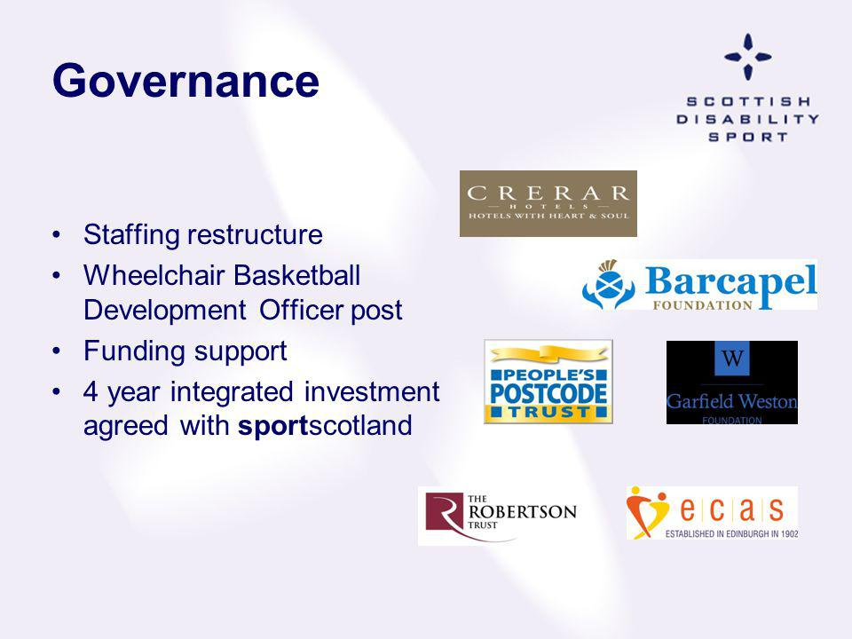 Governance Staffing restructure