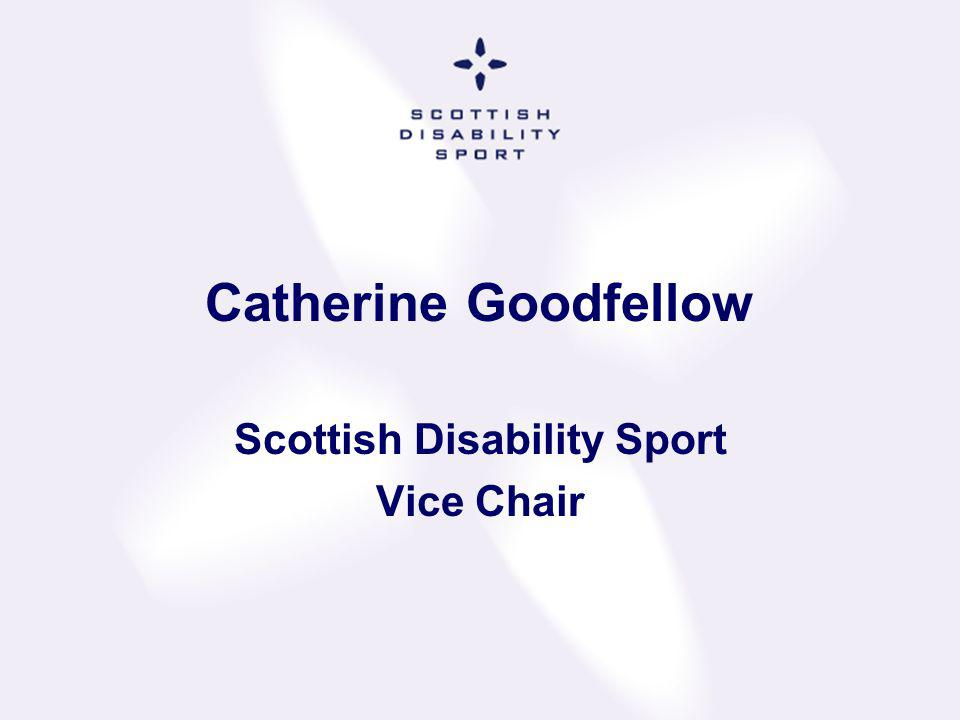 Scottish Disability Sport Vice Chair
