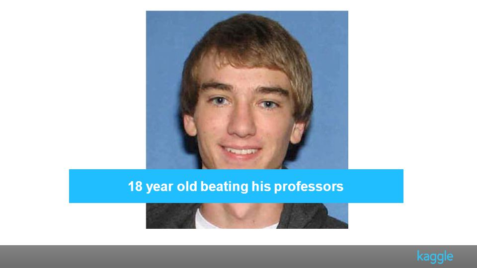 18 year old beating his professors