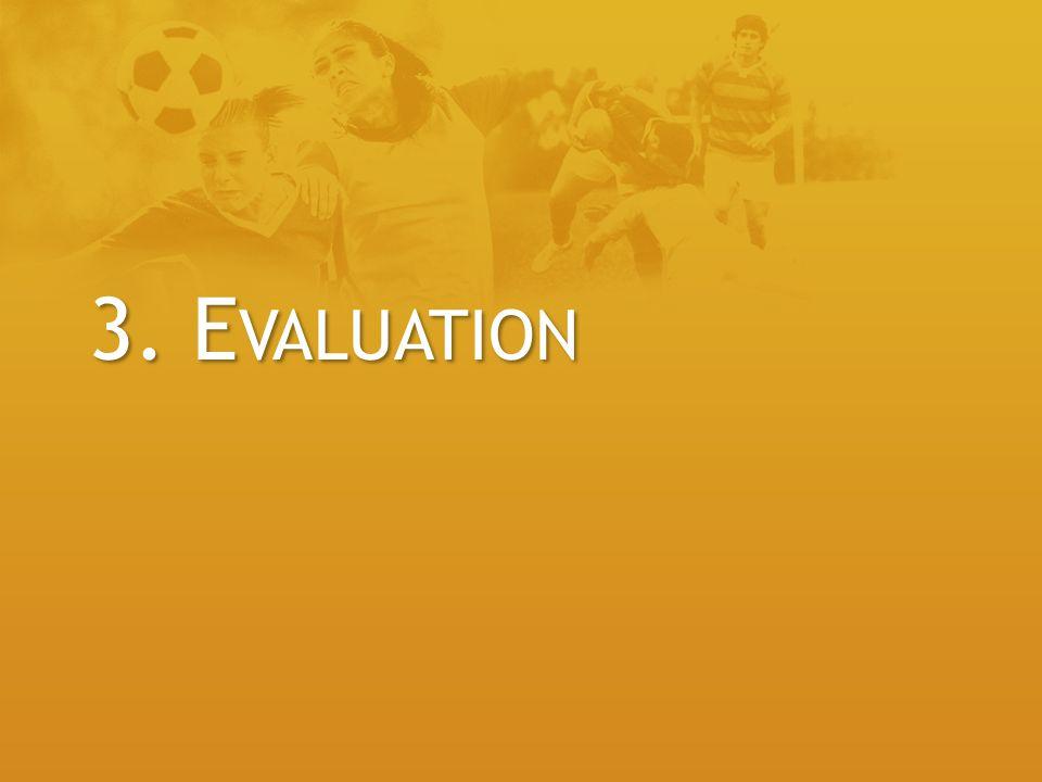 3. Evaluation
