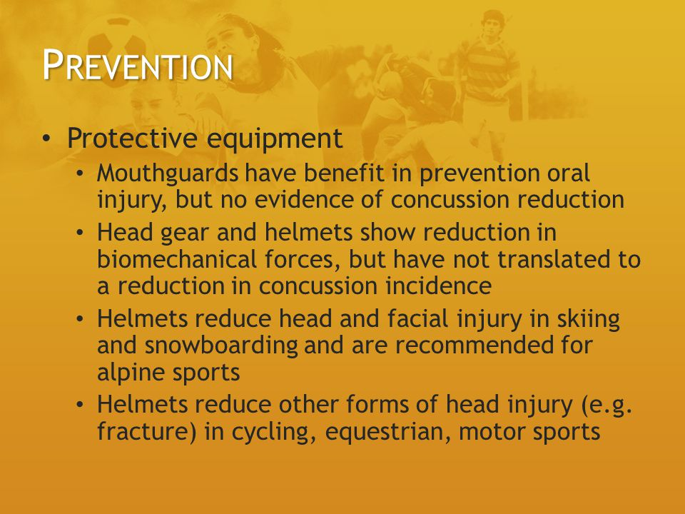 Prevention Protective equipment