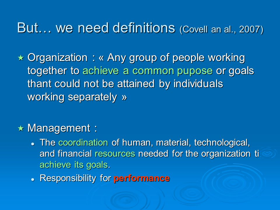 group of individuals working together to achieve a common goal A group of people, working together, towards a common goal  that is why for  me its not about teamwork but if teams have to work, the leader.