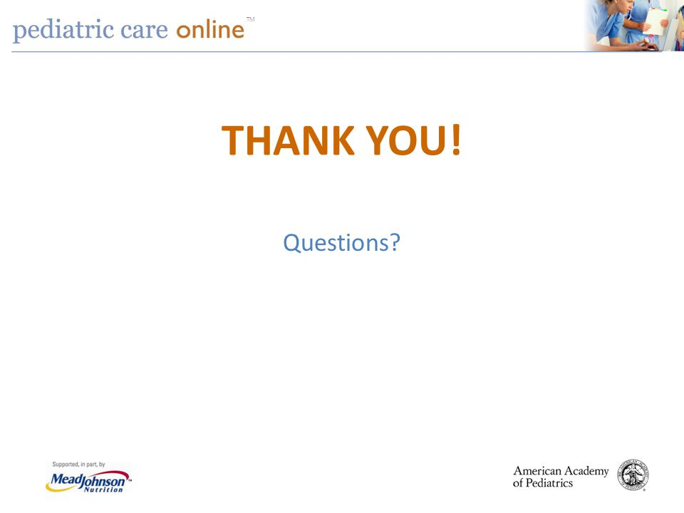 THANK YOU! Questions Session agenda 40