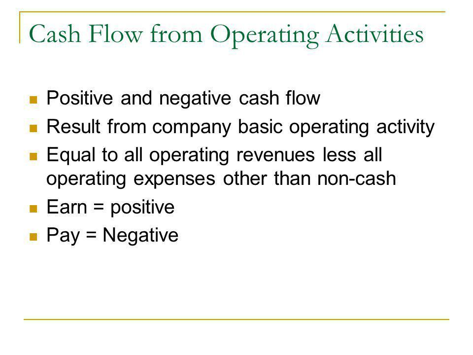 how to find cash flow from operating activities