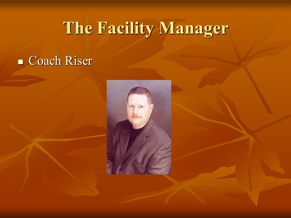 The Facility Manager Coach Riser
