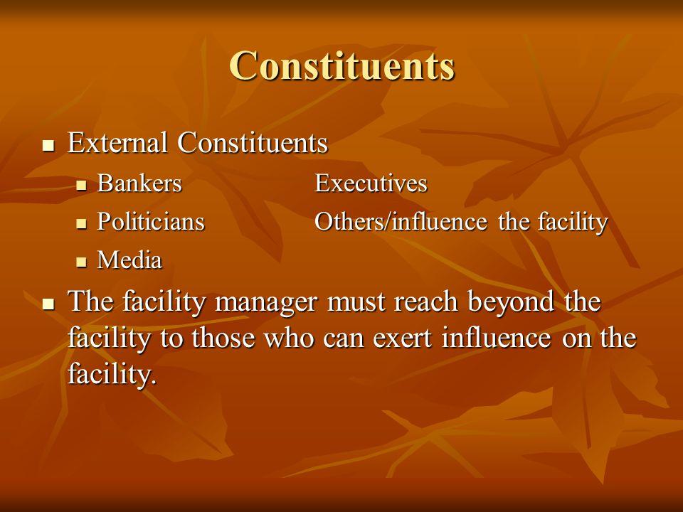 Constituents External Constituents