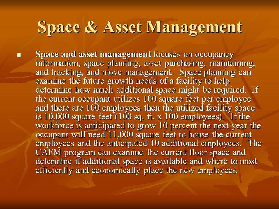 Space & Asset Management