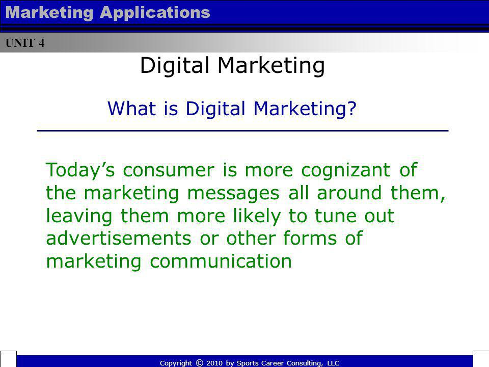 Digital Marketing What is Digital Marketing
