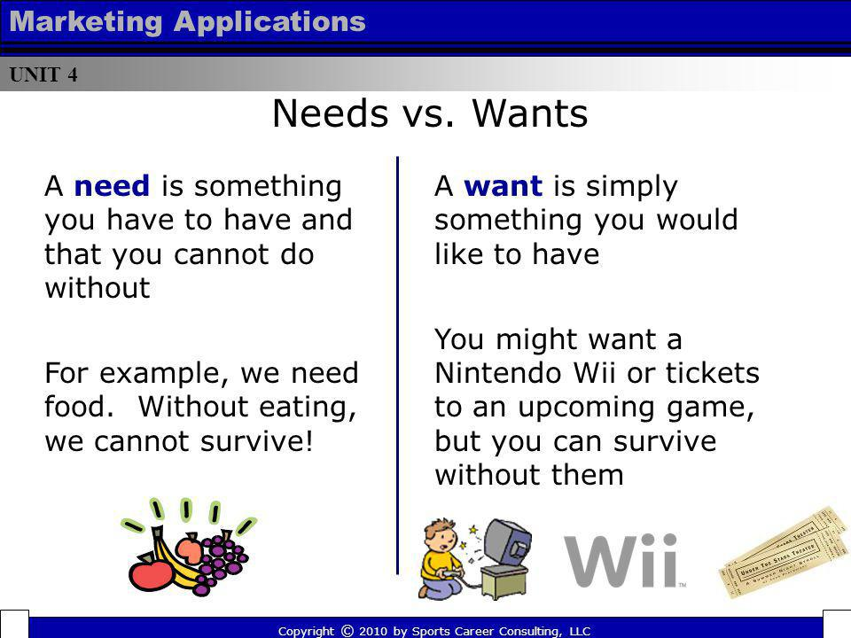 Unit 4 – Marketing Applications - ppt download