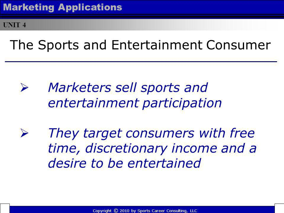 The Sports and Entertainment Consumer