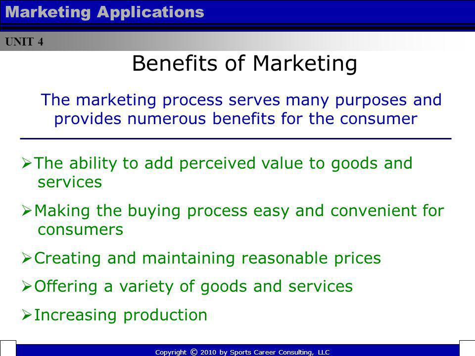 Benefits of Marketing Marketing Applications