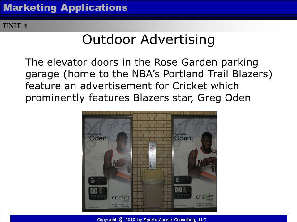 Outdoor Advertising Marketing Applications