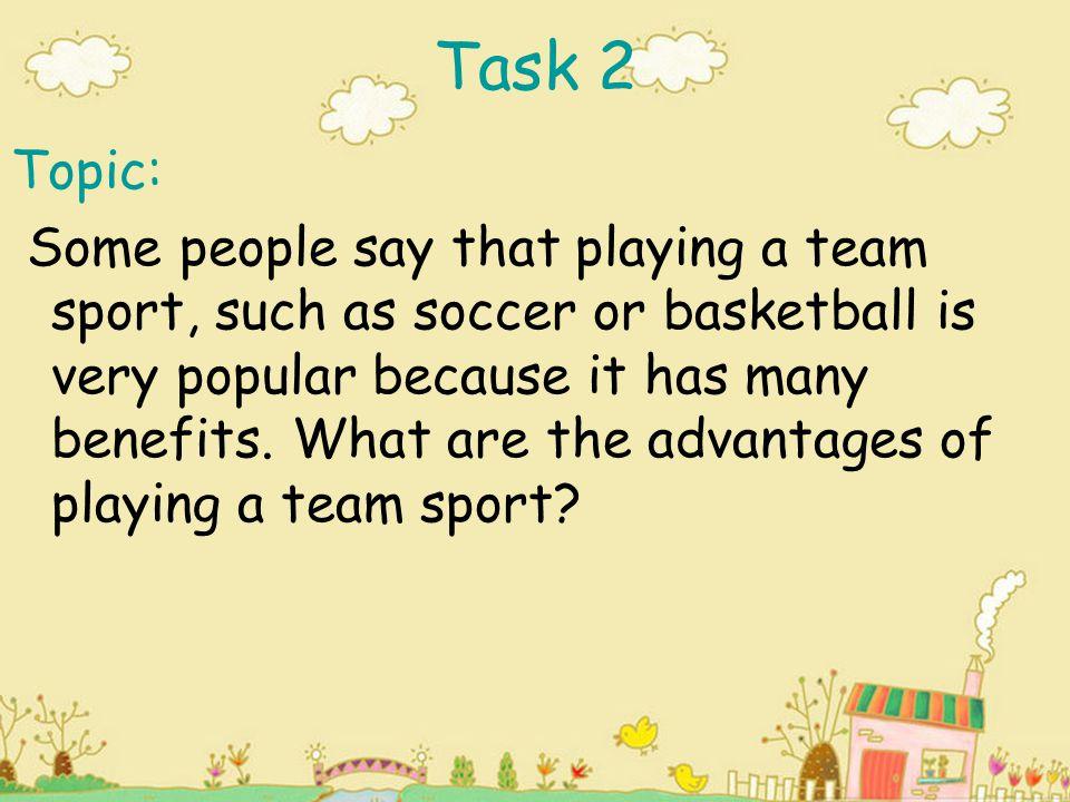 Task 2 Topic:
