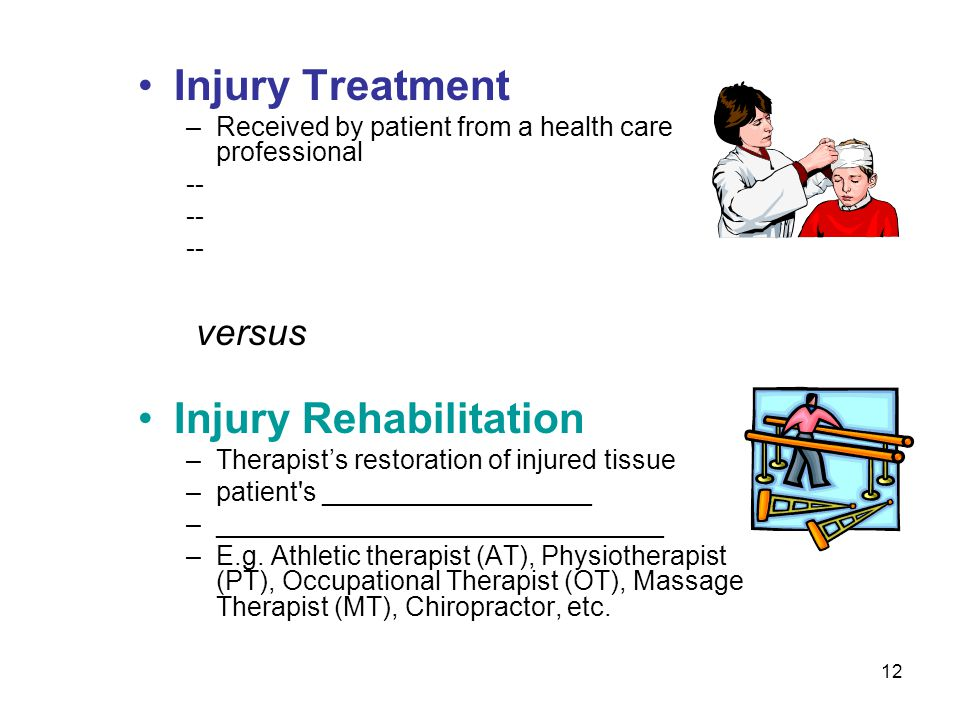 Injury Rehabilitation