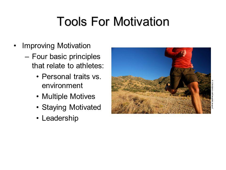 Tools For Motivation Improving Motivation