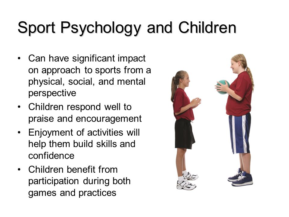 Sport Psychology and Children