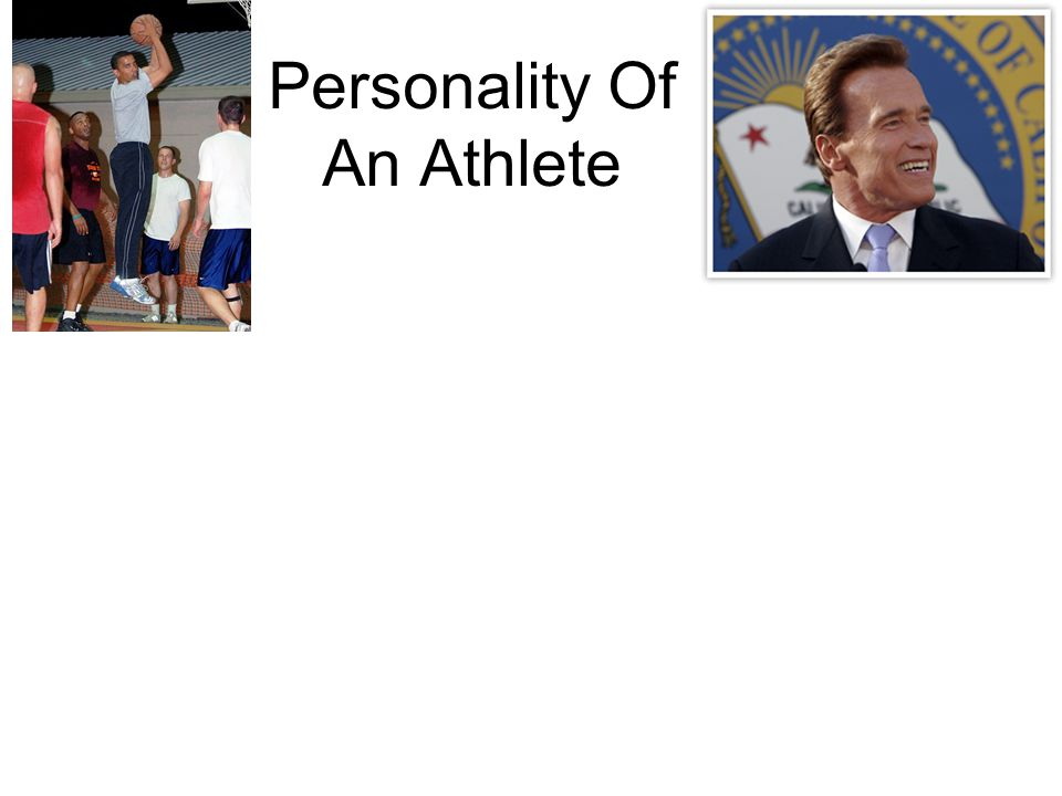 Personality Of An Athlete