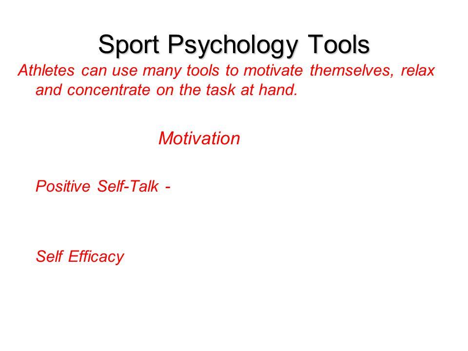 Sport Psychology Tools