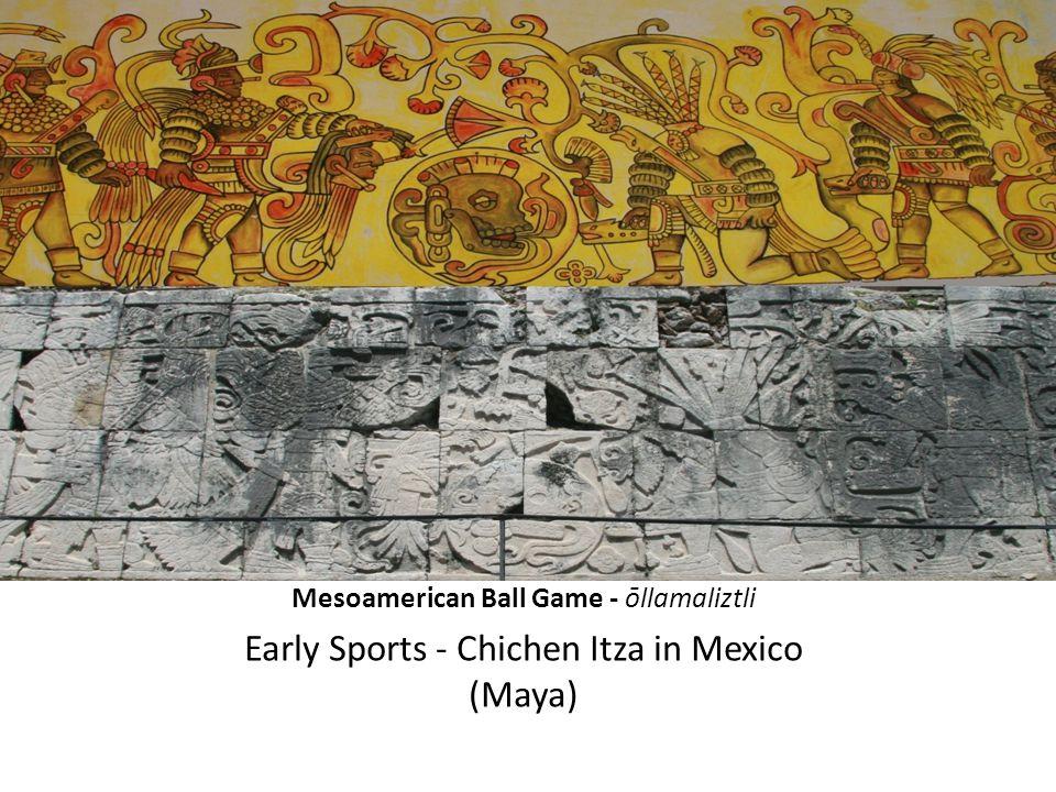 Mesoamerican Ball Game - ōllamaliztli