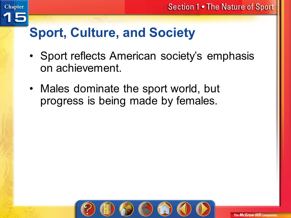 Sport, Culture, and Society