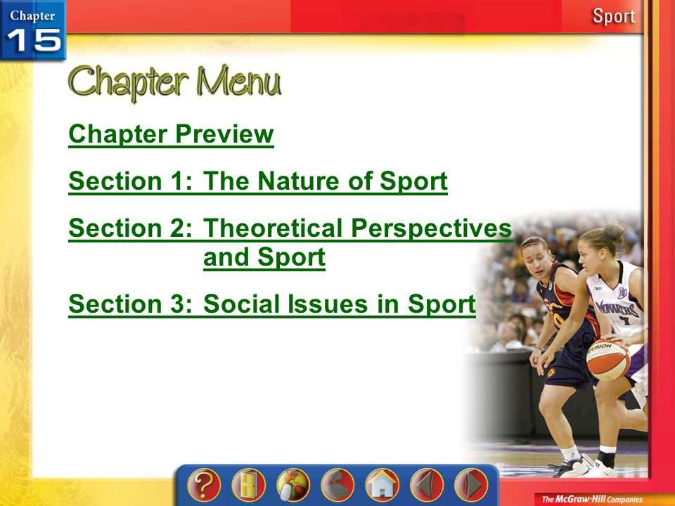 Section 1: The Nature of Sport