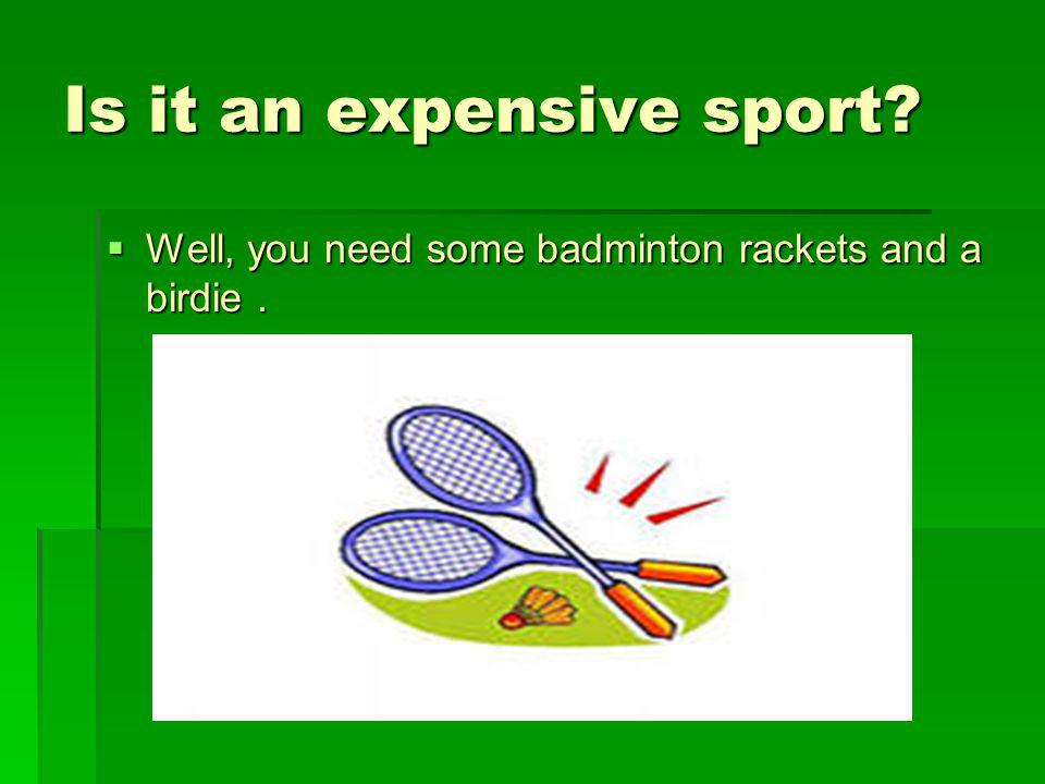 Is it an expensive sport