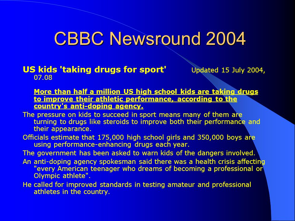 CBBC Newsround 2004