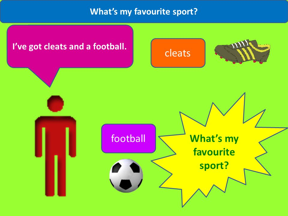 What's my favourite sport