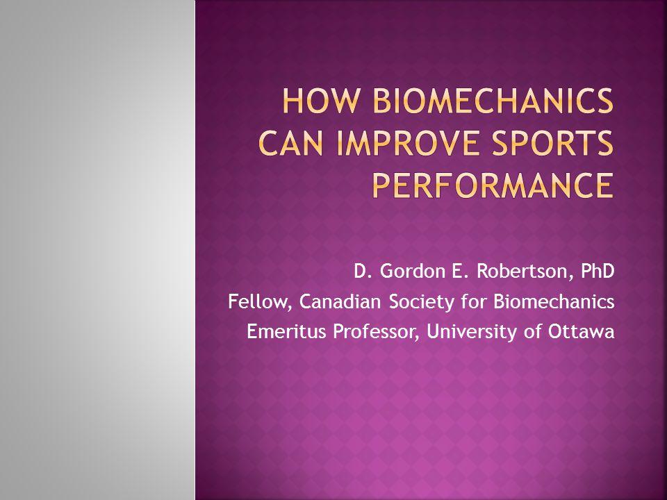 How Biomechanics Can Improve Sports Performance
