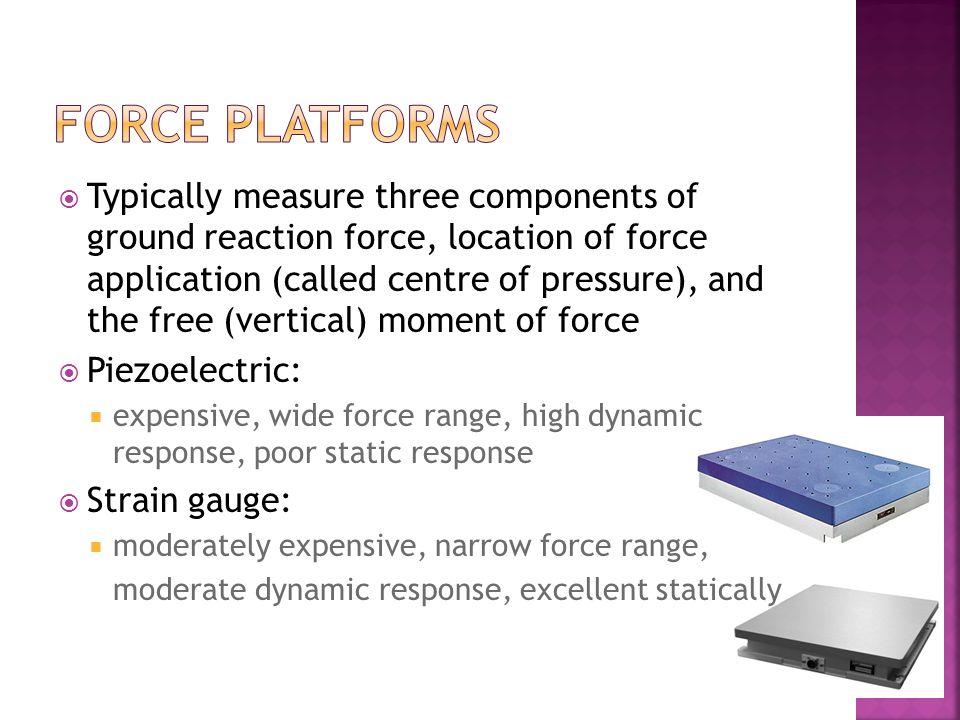 force platforms