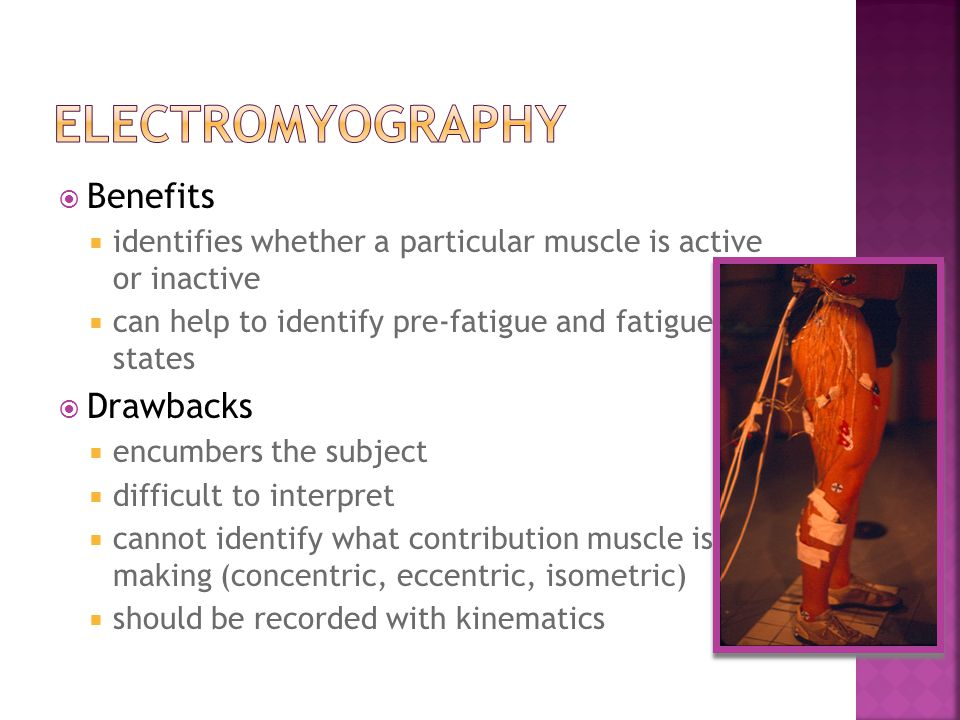 electromyography Benefits Drawbacks