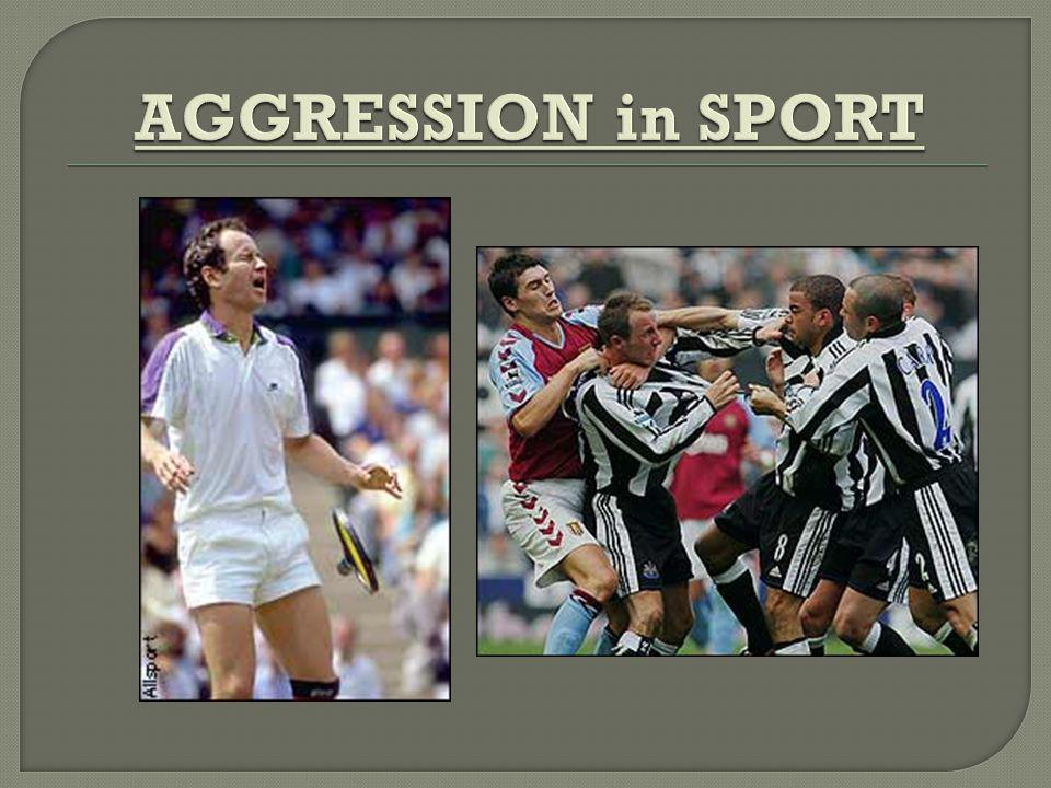 sport agression Video: sports psychologist jonathan fader helps professional athletes and teams with focus and managing aggression.